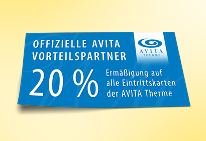 Vorteilspartner AVITA Therme